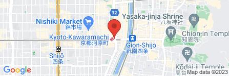 地図 どんぐり 四条河原町店