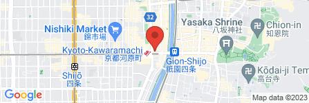 地図 コトクロス 阪急河原町