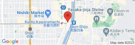 地図 ゆず小町 京都