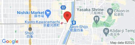 地図 リカーマウンテン 四条高瀬川店
