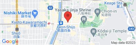 地図 祇園のもりた