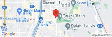 地図 THE SOUVENIR STORE® 衹園店