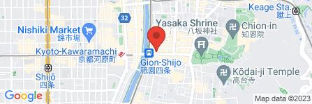 地図 串焼きダイニング祇園 翔