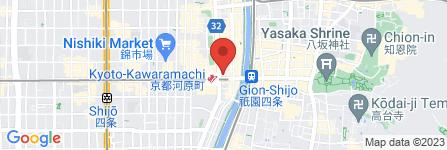 地図 Jour 河原町店