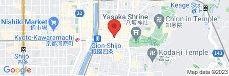 地図 バーベスパ京都