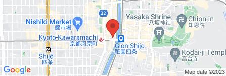 地図 鮨・酒・肴 杉玉 京都河原町