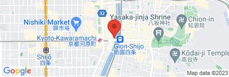地図 先斗町 いづもや