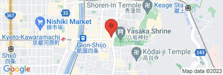 地図 祇園 沖よし