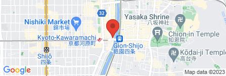地図 酒と肉天ぷら 勝天 -KYOTO GATTEN-