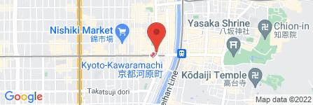 地図 京都脱毛サロン 恋肌