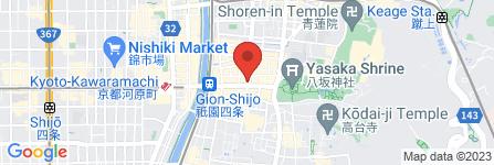 地図 青冥 祇園店
