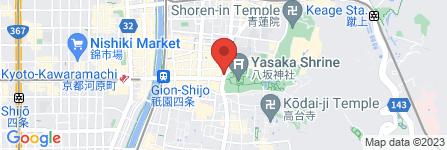 地図 衹園 京くらら