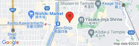 地図 東すし 祇園店