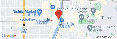地図 先斗焼  心