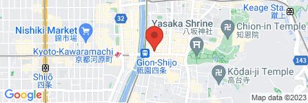 地図 ダイコクドラッグ 祇園四条店