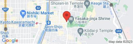 地図 米料亭 八代目儀兵衛