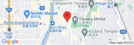 地図 祇園なん波