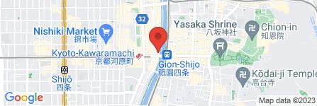 地図 京料理 春神