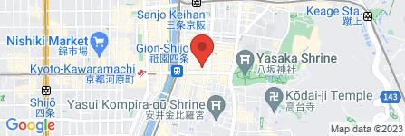 地図 Yショップ 祇園