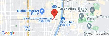 地図 プーマストア 京都