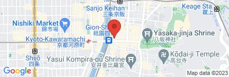 地図 Pandora
