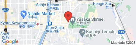 地図 ぎをん 川勝