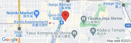 地図 祇園 水族館BAR Nox