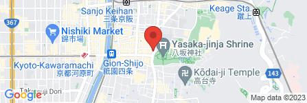 地図 Ki-Yan Stuzio本店