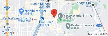 地図 舞妓飯  祇園本店