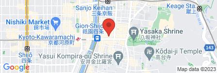 地図 GION SEKIYA