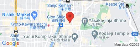 地図 祇園 おくむら