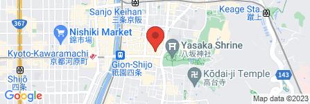 地図 京料理 万年青おもと