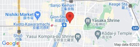 地図 haku gion
