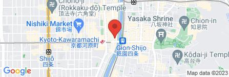 地図 CLUB Dear… Kyoto