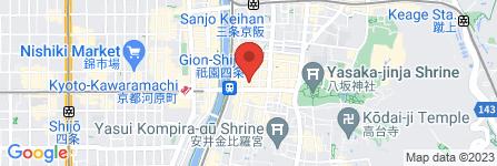 地図 GION ALBA