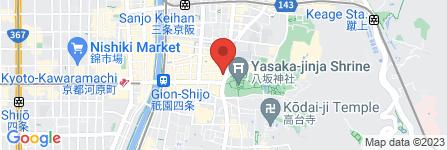 地図 ぎおん 酒菜屋