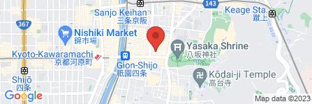 地図 GION SHIKI