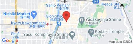 地図 spice32祇園店