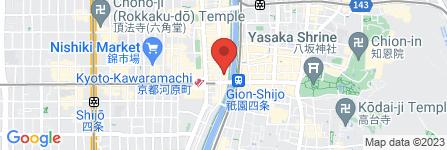 地図 来恩~KIYAMACHI IZAKAYA RAION~