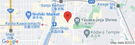 地図 GOLD gion members