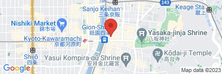 地図 祇園かね松食料品店
