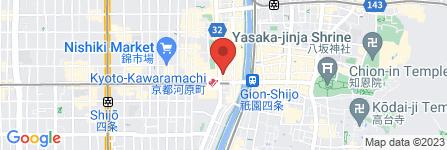 地図 auショップ 京都河原町