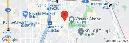 地図 京都和装  夢見堂