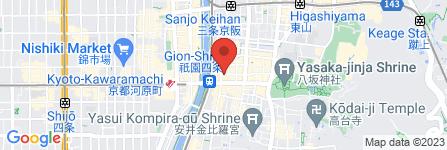 地図 リカーマウンテン 祇園店