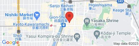 地図 祇園 花灯