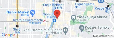 地図 GION Flower Style いろは