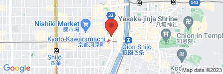 地図 茶BAR -Kyoto-