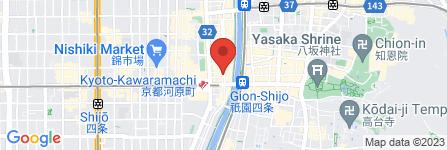 地図 チファジャ 四条木屋町店