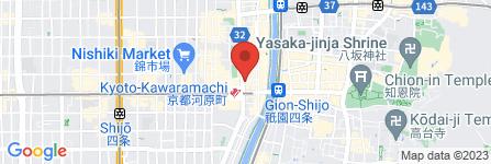 地図 Chloe hair 四条河原町店