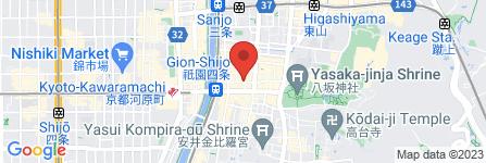 地図 京料理しん和風いわい